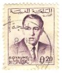 Stamps Morocco -  Hasan II