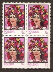 Stamps of the world : Poland :  SOMBREROS  TRADICIONALES