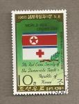 Sellos de Asia - Corea del norte -  Cruz Roja de Corea del Norte