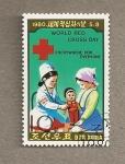 Stamps North Korea -  Cruz Roja de Corea del Norte