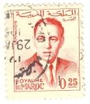Sellos de Africa - Marruecos -  Hasan II