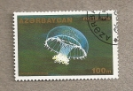 Sellos del Mundo : Asia : Azerbaiyán : Medusa