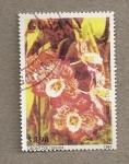 Sellos del Mundo : America : Guyana : Flor Odontoglossum
