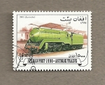 Stamps Asia - Afghanistan -  Trenes antiguos