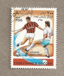 Stamps : Asia : Afghanistan :  Campeonatos fútbol Francia 1998