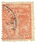 Stamps of the world : Argentina :  primer congreso postal panamericano