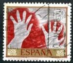 Sellos de Europa - España -  Pinturas rupestres