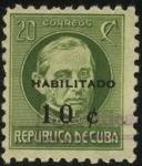 Sellos de America - Cuba -  Jos� Antonio Saco -1797 - 1879-  destacado periodista y docente cubano.