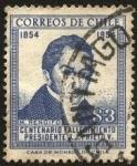 Sellos de America - Chile -  100 años del fallecimiento del presidente Joaquín Prieto Vial.  Manuel Rengifo y Cárdenas ministro d