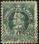 Sellos de America - Chile -  Cristóbal Colón.