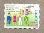 Sellos de Europa - España -  Aniv Inspección Trabajo