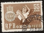 Stamps Romania -  FAO - campaña mundial lucha contra el hambre