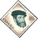 Stamps Spain -  1227 - IV centº de la muerte de Carlos I de España y V de Alemania