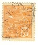 Stamps America - Brazil -  aviaçao