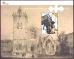 Stamps : Europe : Portugal :  Monasterio de Guimaràes