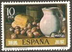 Stamps of the world : Spain :  2366 - Bodegón, de Luis Eugenio Menéndez