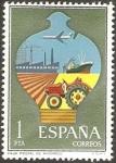 Stamps Spain -  2329 - Servicios de Correos, Caja Postal de Ahorros