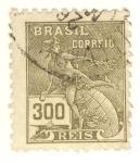 Sellos de America - Brasil -  REIS