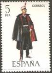 Stamps of the world : Spain :  2454 - Uniforme Militar de Capitán de Ingenieros