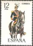 Stamps Spain -  2455 - Uniforme Militar de Capitán General 1925