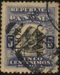 Sellos del Mundo : America : Panamá : Justo Arosemena destacado estadista y gran político. 1817 - 1896.