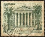 Sellos del Mundo : America : Chile : Ex - Palacio del Congreso Nacional de Santiago de Chile. 150 años del primer congreso nacional 1811