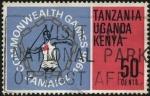 Stamps Tanzania -  Juegos del Imperio Británico y de la Mancomunidad realizados en Jamaica en 1966.