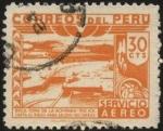 Sellos del Mundo : America : Perú : Río ICA. Boca toma de la Achirana. Riego de 22000 hás.