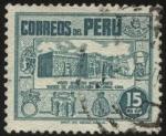 Sellos de America - Perú -  Museo de Arqueología Nacional de Lima.