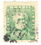 Stamps America - Brazil -  almirante Tamandaré
