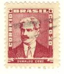 Sellos de America - Brasil -  Oswaldo Cruz