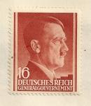 Sellos de Europa - Polonia -  Hitler