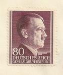 Stamps Poland -  Hitler