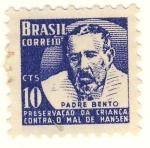 Sellos de America - Brasil -  Padre Bento