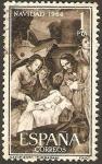 Sellos de Europa - España -  1630 - Navidad, Nacimiento de Zurbarán