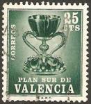 Stamps of the world : Spain :  5 - Plan Sur de Valencia, El Santo Grial