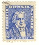 Stamps Brazil -  Jose Bonifacio