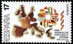 sellos de Europa - España -  ESPAÑA 1986 2826 Sello Nuevo Ingreso España en CEE Mapa de la Europa Comunitaria Yvert2445 Scott2464
