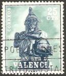Stamps Spain -  8 - Plan Sur de Valencia, Jaime I