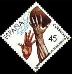 Sellos del Mundo : Europa : España :  ESPAÑA 1986 2851 Sello Nuevo Deportes Campeonato del Mundo de Baloncesto Yvert2467 Scott2481