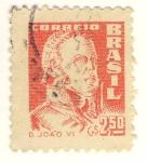 Sellos de America - Brasil -  D. Joao VI