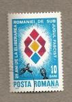 Sellos de Europa - Rumania -  25 años de liberación del yugo fascista