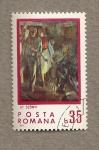 Stamps Romania -  Pintura