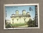 Stamps Romania -  Monasterio Golia