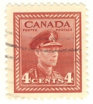 Stamps America - Canada -  King George VI