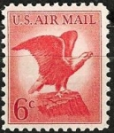 Stamps United States -  Bald Eagle