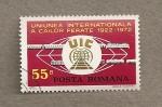 Stamps Romania -  50 Aniv. de la Unión Int. de Ferroviarios