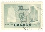 Sellos del Mundo : America : Canadá : Industria textil de Canada