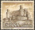 Stamps Europe - Spain -  1744 - Castillo Manzanares el Real en Madrid