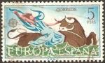 Sellos de Europa - España -  1748 - Europa Cept, el rapto de Europa por Zeus